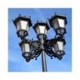 Farola Imperial Aluminio LED 40W LUMILEDS Area-led