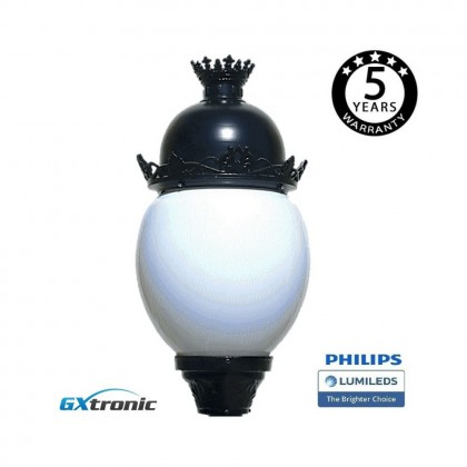 Farola Avenida Aluminio LED 40W LUMILEDS Area-led