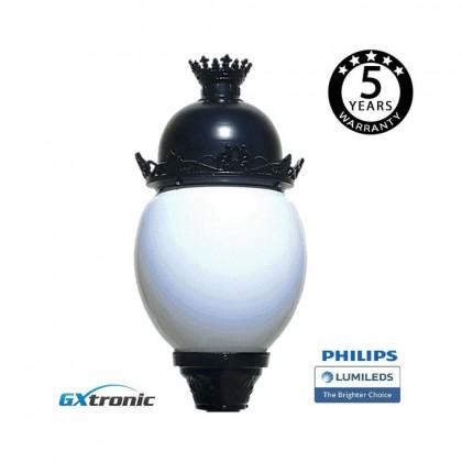 Farola Avenida Aluminio LED 40W LUMILEDS Area-led