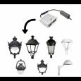 Farola Alcazar Aluminio LED 40W LUMILEDS Area-led