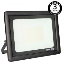 Foco Proyector Exterior Negro LED 100W ACTION IP65 Area-led