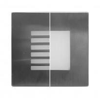 Baliza LED Empotrable pared 1.5W - Interior - Exterior IP65 Area-led - Señalizacion Led Y Emergencias Led