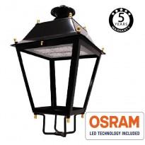 Farola Villa Aluminio LED 100W OSRAM Chip 140Lm/W Area-led - Iluminación LED