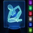 Lámpara de Mesa 3D RGB - WOMAN - Area-led