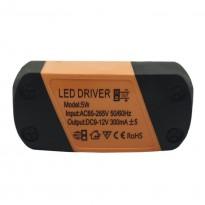 Driver para luminarias LED de 5W 300mA Area-led - Fontes De Alimentação
