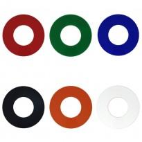 Aro suplementar cobre o orifício para dicróico - LED de área de 15,5 cm - Downlights Led