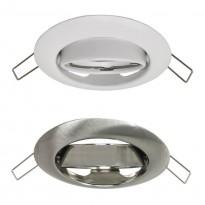Aro Redondo Orientable para dicroica LED GU10 MR16 - Ø90mm - Acero Area-led - Lamparas Y Bombillas Led