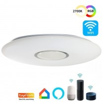 Plafón LED 24W WiFi SMART RGB+CCT - Regulable Area-led - Eficiencia Y Ahorro Domotica