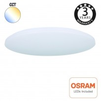 Plafón LED Superficie 18W OSRAM Chip - CCT - COLOR SELECCIONABLE Area-led
