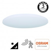 Plafón LED Superficie 18W - 4000K - SENSOR RADAR Osram Chip- Area-led