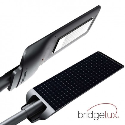 Farola LED 90W Solar PROFESIONAL - ULTRA SLIM - con Sensor de Movimiento 150lm/W Area-led