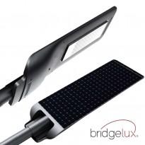 Farol LED 90W Solar PROFESIONAL - ULTRA SLIM - com sensor de movimento 150lm/W Area-led - Iluminación LED