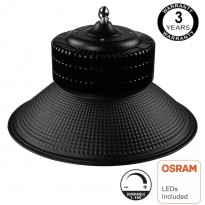 Campana Industrial LED 150W DIMABLE 1-10V - PRO Black chip OSRAM Area-led - Iluminación Led Industrial