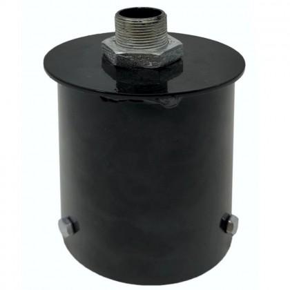 Soporte de acoplamiento para columna farola LED - 90mm Area-led