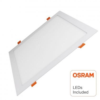 Placa Slim LED Cuadrada 30W - OSRAM CHIP DURIS E 2835 Area-led