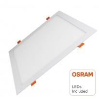 Painel Slim LED Quadrada 30W - OSRAM CHIP DURIS E 2835 Area-led - Iluminación LED