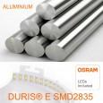 Placa Slim LED Cuadrada 8W - OSRAM CHIP DURIS E 2835 Area-led