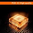 Placa Slim LED Circular 8W - OSRAM CHIP DURIS E 2835 Area-led