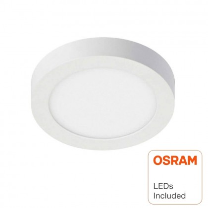Plafón LED circular superficie 20W - OSRAM CHIP DURIS E 2835 Area-led
