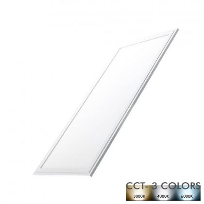 Panel LED 60X30 cm 24W Marco Blanco - CCT Area-led