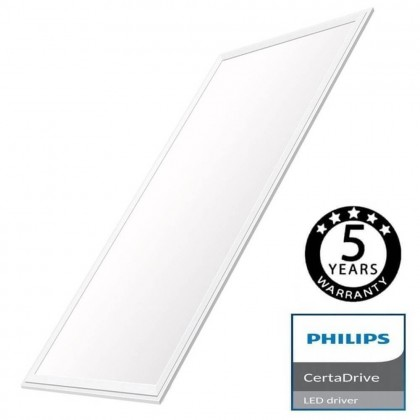 Panel LED 120x60 80W - CERTA Driver Philips 5 años Garantía Area-led