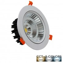 Downlight LED Empotrable 25W 120º - CCT- Color Seleccionable Area-led - Downlights Led
