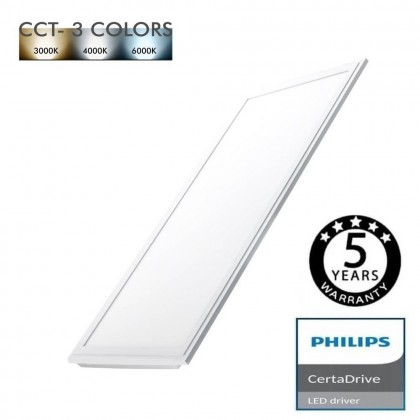 Panel LED 60X30 24W Certa Driver Philips - CCT Area-led