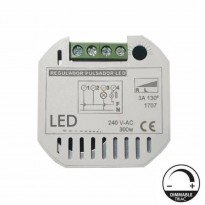 Regulador para pulsador de pastilla para LED - TRIAC Area-led