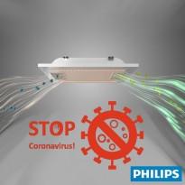 Panel LED 60x60 con sistema de filtrado de aire - Lámpara Philips UV-C Germicida Area-led