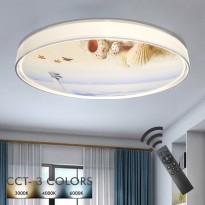 Plafón LED 36W OULU - Dimable - CCT + Mando Control Area-led