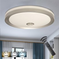 Plafón LED 36W ESPOO - Dimable - CCT + Mando Control Area-led