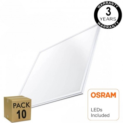PACK 10 Panel LED 60x60 48W - OSRAM CHIP DURIS E 2835 Area-led