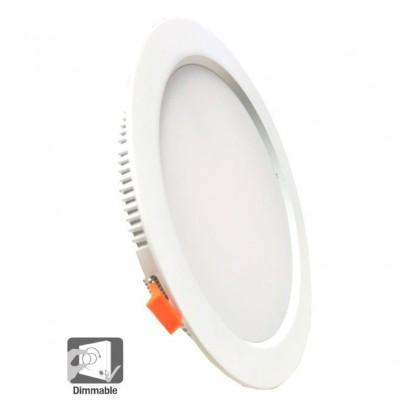 Downlight LED 30W circular -Dimable Triac -COLOR 3000K- 120° Area-Led - ÚLTIMAS UNIDADES