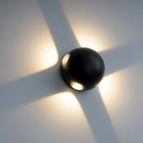 Aplique LED VIBORG 12W Exterior Area-led - Iluminación LED