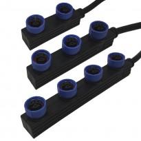 Cable Conector Estanco M15 de 30Cm - 3*0.75 para Magnum DOB Area-led