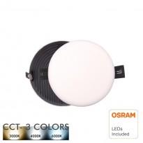 Downlight LED 8W Frameless QUASAR - OSRAM CHIP DURIS E 2835 - CCT Area-led - Downlights Led