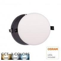 Downlight LED 12W - Frameless QUASAR - OSRAM CHIP DURIS E 2835 - CCT Area-led - Downlights Led