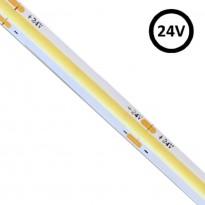 Tira LED COB 24V | 280 LED/m | 5m | FLIP CHIP | 1320Lm |12W/M | CRI90 | IP20 Area-led - Fitas Led E Neon Led
