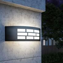 Aplique para LED E27 GOTEMBURGO GRIS Exterior Area-led - Iluminación LED
