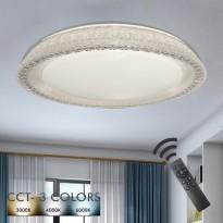 Plafón LED 36W TURKU - Dimable - CCT + Mando Control Area-led