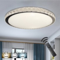 Plafón LED 36W HELSINKI Dimable - CCT + Mando Control Area-led