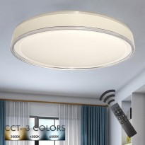 Plafón LED 36W TAMPERE - Dimable - CCT + Mando Control Area-led