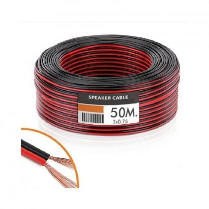 Cable Audio (Tira LED) 2x0.75mm 50 Metros Area-led