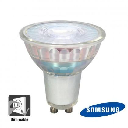 LĂ¢mpada GU10 LED SMD 6W 45° GU10 Dimmable 24H