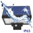 Aplique Solar 10W con Sensor de presencia PIR 6000K - Area-Led