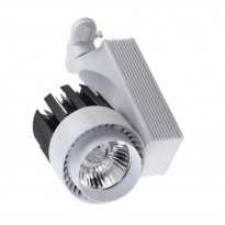 Focus LED SARA pour rail 30w 2600lm 24º IP20