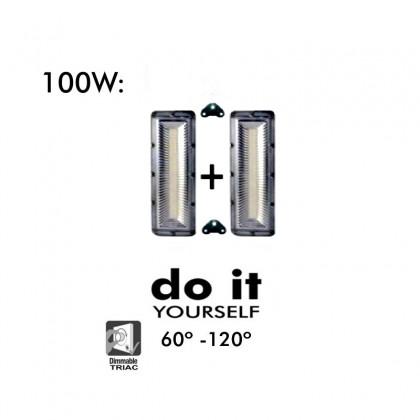Proyector DIY 100W 60º y 120º IP20