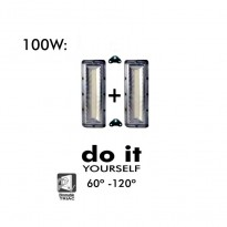 Projecteur DIY 100W 60º y 120º IP20