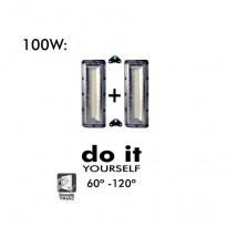 Projecteur DIY 100W 60º y 120º IP20 - Iluminación LED