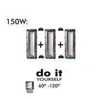 Projector DIY 150W 60º y 120º IP20 - Iluminación LED